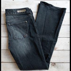Express Stella low rise bootcut jeans sz 8 EUC